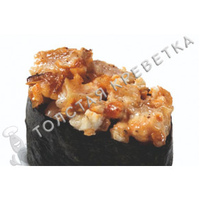 Спайси суши с острым сурими